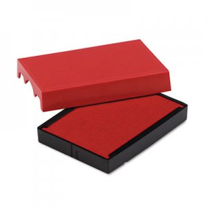 Identity Group P4729RD Trodat T4729 Dater Replacement Pad, 1 9/16 x 2, Red USSP4729RD