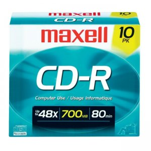 Maxell 648210 40x CD-R Media MAX648210