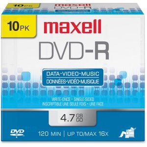 Maxell 638004 16x DVD-R Media MAX638004