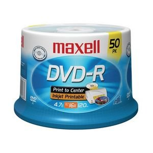 Maxell 638022 16x DVD-R Media