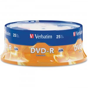 Verbatim 95058 DVD-R 4.7GB 16x 25pk Spindle VER95058