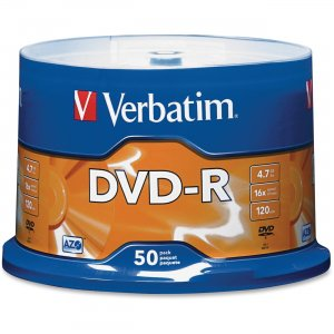 Verbatim 95101 DVD-R 4.7GB 16x 50pk Spindle VER95101