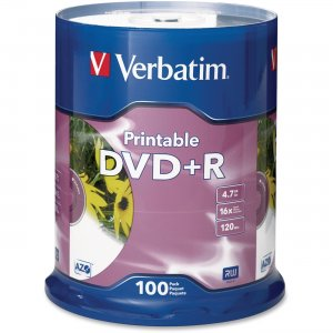 Verbatim 95145 16x DVD+R Media VER95145