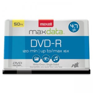 Maxell 638011 16x DVD-R Media MAX638011