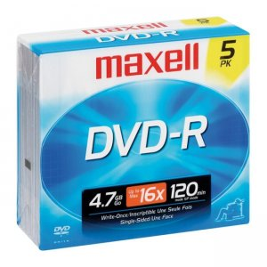 Maxell 638002 16x DVD-R Media MAX638002