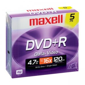 Maxell 639002 16x DVD+R Media MAX639002