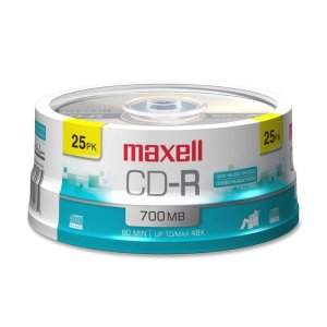 Maxell 648445 48x CD-R Media MAX648445