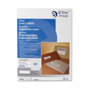 Elite Image 26001 Return Address Label