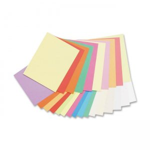 Pacon 101195 Array Pastel/Bright Colors Jumbo Card Stock