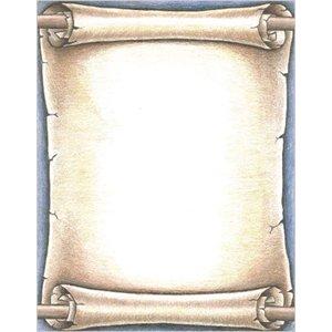 Geographics 46886 Scroll Design Bond Paper