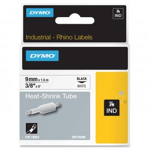DYMO 18053 Heat Shrink Tube Label 71701