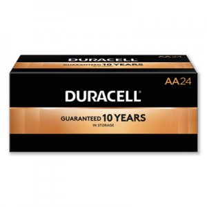Duracell DURMN1500B24 CopperTop Alkaline Batteries, AA, 24/Box