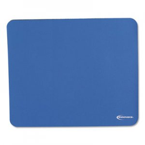 Innovera IVR52447 Latex-Free Synthetic Rubber Mouse Pad, Blue