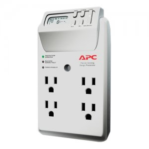 APC P4GC SurgeArrest Essential 4-Outlets Surge Suppressor