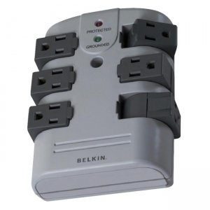 Belkin BP106000 6-Outlets Surge Suppressor BLKBP106000