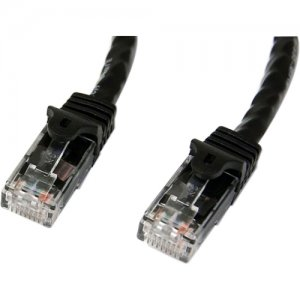 StarTech.com N6PATCH25BK 25 ft Black Snagless Cat6 UTP Patch Cable