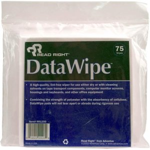 Read Right RR1250 DataWipe Cleaning Wipe REARR1250