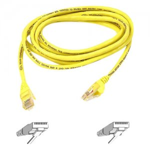 Belkin A3L791-15-YLW Cat5e Cable
