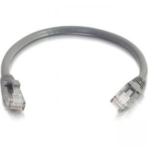 C2G 19145 200 ft Cat5e Snagless UTP Unshielded Network Patch Cable - Gray