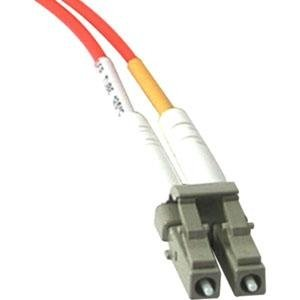 C2G 33117 Fiber Optic Duplex Multimode Patch Cable with Clips