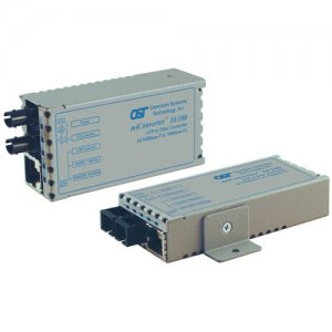 Omnitron Systems 1110-2-6 miConverter Ethernet to Fiber Media Converter 1110-2-x