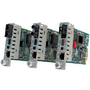 Omnitron Systems 8371-1 iConverter 100Fx/Tx SC Single-Mode Single-Fiber (15/13) 20km Plug-In Module 8371-1